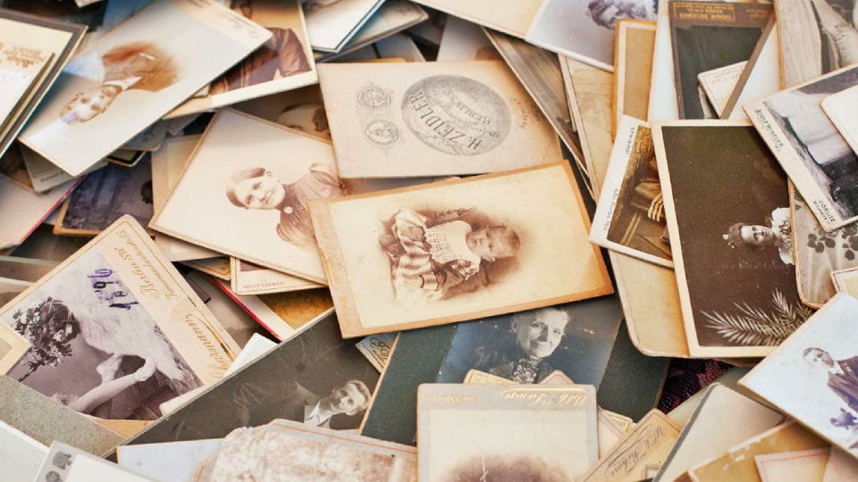 Image showing Old Photographs and Documents.
